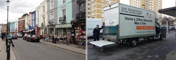 Man and a Van in Notting Hill